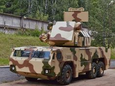 9K332 Tor M2E  SA-15 Gauntlet Short-Range Surface-to-Air Missile System (Russia)