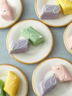 Dragonfly Cakes - Dragonfly Signature Petit Fours.     -      try these, they are divine