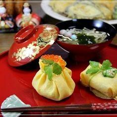 ひな祭り茶巾寿司 レシピ