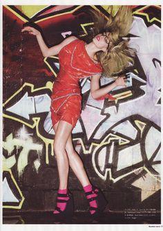 Masha Novoselova by Alex Cayley for Numero Tokyo, May 2008.