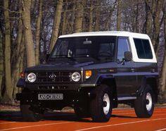 Toyota Land Cruiser (BJ70) '1995–99