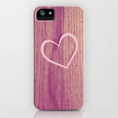 Heart iPhone & iPod Case by Melissa Lund