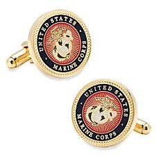 Men's Cufflinks Inc US Marine Corps Cufflinks - Multi Military Insignia, Us Marine Corps, Grad Gifts, Gold Set, Gemstone Colors, Loose Gemstones, Fine Jewelry, The Unit, Military Weddings