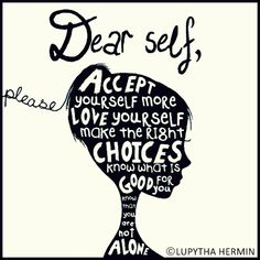 Discover and share Self Acceptance Quotes And Sayings. Explore our collection of motivational and famous quotes by authors you know and love. Quotes To Live By, Me Quotes, Motivational Quotes, Inspirational Quotes, Unique Quotes, Wall Quotes, Dear Self, Self Acceptance, Love You More