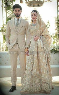 Pakistani Fashion Party Wear, Pakistani Wedding Outfits, Indian Bridal Outfits, Pakistani Wedding Dresses, Wedding Hijab, Lace Wedding, Couple Wedding Dress, Indian Wedding Gowns, Wedding Dresses For Girls