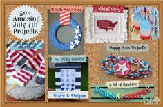 The Crafty Scientist: Favorite July 4th Projects