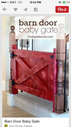 Baby gate, Oh heck No.... I want this leading to my fenced in back yard!