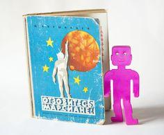 Soviet kids book Respond the Martians fun illustrated by SovietEra