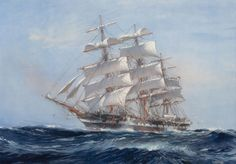 watercolor sail ship - Google Search