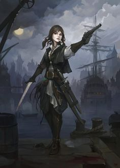 Rackham is probably best known for having not one, but two, female pirates among his crew. Description from pinterest.com. I searched for this on bing.com/images