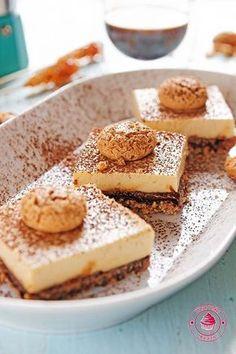 kawowy sernik na zimno 3 Tiramisu, Cheesecake, Food And Drink, Sweets, Cookies, Baking, Ethnic Recipes, Blog, Kuchen