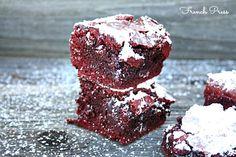 French Press: Red Velvet Brownies