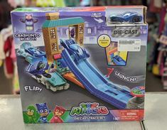 Hours of fun await with this PJ Masks Die Cast Track Set ($12) #gentlyused #buysellrepeat #baby #infants #toddlers #fayettevillemoms #fortbraggnc #fayettevillenc #children #kids #onceuponachildfayettevillenc Pj Mask, Infants, Diecast, Toddlers, Masks, Track, Product Launch, Buy And Sell, Toys