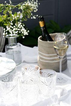 My table settings. Midsummer. bythereseknutsen.no