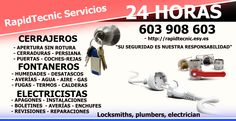 Cerrajeros Alginet 603 932 932 Fontaneros Electricistas en Alginet, Comunidad Valenciana