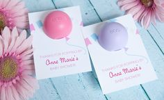Paula Biggs from Frog Prince Paperie created the sweetest About to Pop baby shower favor, and she's a darling free printable so you can make it yourself!