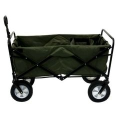 Mac Sports Folding Wagon - Green..would be great to keep in the fj for stock trips for the parking lot to the shop!!