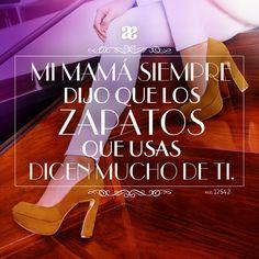 ¡Unos lindos #zapatos siempre dicen más que mil palabras!