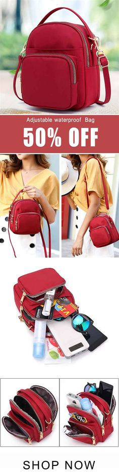 I love those fashionable and beautiful bags from banggood.com. Find the most suitable and casual bags at incredibly low prices here.#bag#sale Travel Handbags, Purses And Handbags, Mini Mochila, Cute Fashion, Womens Fashion, Purse Styles, Best Bags, Casual Bags, Beautiful Bags