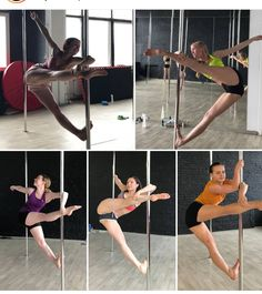 Pole Fitness Moves, Yoga Fitness, Pole Dance Moves, Pole Dancing Fitness, Dance Tips, Fitness Goals, Fitness Exercises, Workout Fitness, Boot Camp Workout