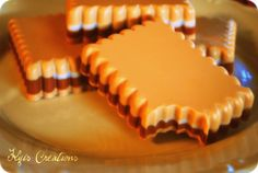 S'Mores Scented Soap Bars #smores #soap #handmade #MP favors #party