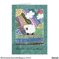 All Occasion Card with Sheep