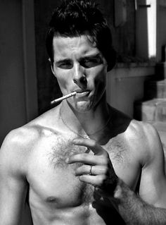 Dear James Marsden, please take that cigarette out of your mouth.  You're MUCH hotter without it.  Thank you.