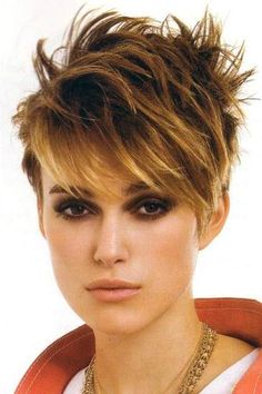 Pixie Cropped...I absolutely love this but I am too chicken to get it cut like that!