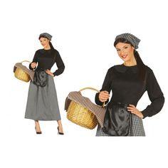 Disfraz de mujer Castañera Adulto. Disfraces de Navidad al mejor precio. Polyvore, Vintage, Ideas Para, Style, Fashion, Happy, Adult Costumes, Grandma Costume, Festivals