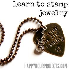 great stamping tips.. http://happyhourprojects.com/jewelry-stamping/