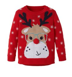 Reindeer Knitted Jumper £14 - £15 @ Mothercare