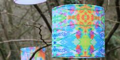 Floral neon lampshade by Catrin Saywell