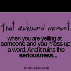 LOL, so many times I have been here...then I laugh♥