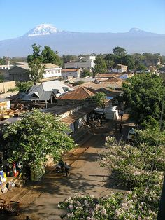 Arusha, Tanzania. I get to live here for 10 weeks!!!