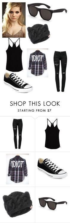 """Fighting about Abigail Breslins Song 'You Suck'"" by lovelylunahemmings ❤ liked on Polyvore featuring Frame Denim, Rip Curl, Converse and RetroSuperFuture"