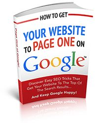 How To Get Your Website To Page One On Google