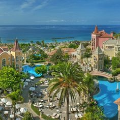 """""""Photo via: @luxwtconcierge  Name: Gran Hotel Bahia del Duque Resort Location: Tenerife, Canary Islands, Spain ━━━━━━━━━━━━━━━━━━━ We are able to offer our…"""""""
