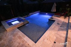 Formal / Geometric Pool #143 by Southernwind Pools