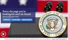 El presidente republicano cierra las cuentas oficiales del Gobierno en español en redes - http://bambinoides.com/el-presidente-republicano-cierra-las-cuentas-oficiales-del-gobierno-en-espanol-en-redes/