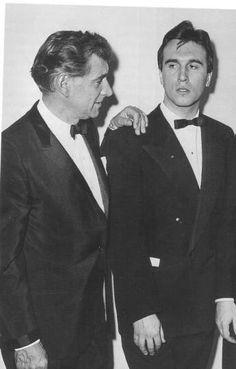 Leonard Bernstein e Claudio Abbado, 1963.