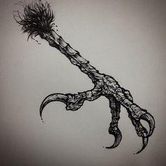crow foot tattoo - Căutare Google
