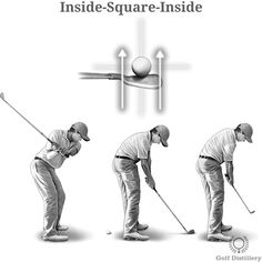 The way the golf club crosses the target line at impact – as well as before and after – is defined as the swing path and it can vary across three different types. They are explained.