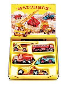 Matchbox Regular Wheels Gift Set No.G8 Construction Set