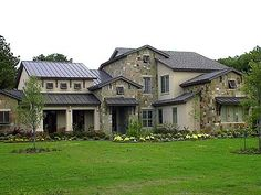 Plan W67078GL: Compelling Hill Country House Plan
