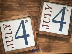 Choose your own Date Sign- Farmhouse style framed painted sign- holidays, Christmas, Halloween, October Valentines Day, July Patriotic Crafts, July Crafts, Summer Crafts, Holiday Crafts, Patriotic Party, Fourth Of July Decor, 4th Of July Decorations, July 4th, October 31