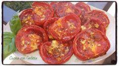 Pomodori seccati in forno