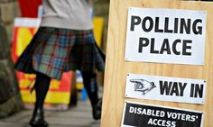 Final poll of Scottish referendum campaign shows six-point lead for no