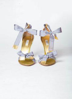 Prada | Ribbon Sandals | RESEE