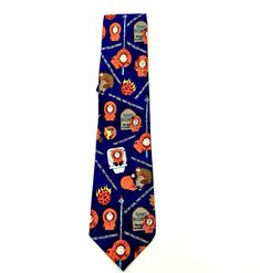 South Park Tie Oh My God They Killed Kenny mccormick 2000 comedy central vintage Comedy Central, South Park, Ties, God, Floral, Vintage, Ebay, Tie Dye Outfits, Dios