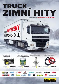 Český Trucker - monthly magazine for sales promotion Industrial Machinery, Sale Promotion, Commercial Vehicle, Spare Parts, Filter, Advertising, Monthly Magazine, Trucks, Marketing
